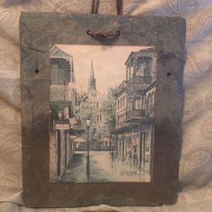 Other - New Orleans Collectible Roofing Slate